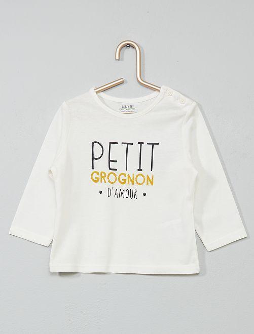 T-shirt 'eco-sostenibile'                     BLU