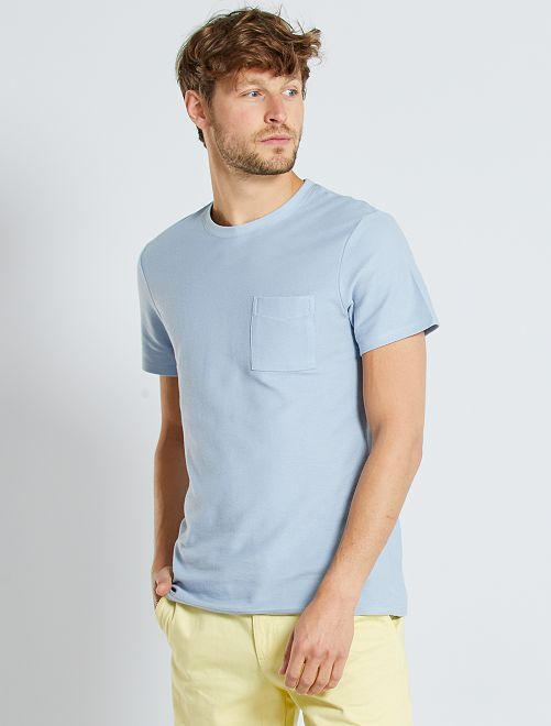 T-shirt eco-sostenibile                                                                 BLU
