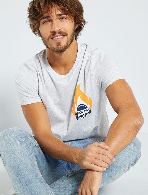 T-shirt eco-sostenibile                                                                                                                             GRIGIO