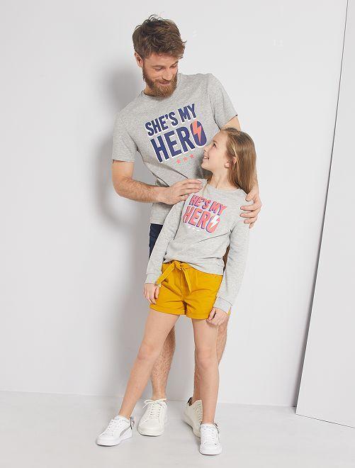 T-shirt 'eco-sostenibile'                                                                             GRIGIO