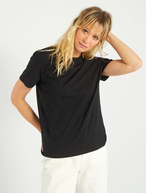 T-shirt eco-sostenibile                                                                                                                 nero