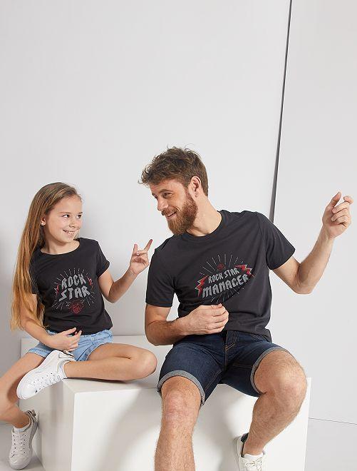 T-shirt 'eco-sostenibile'                                                                             NERO