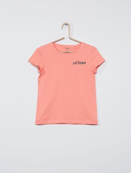 T-shirt eco-sostenibile                                                                             ROSA