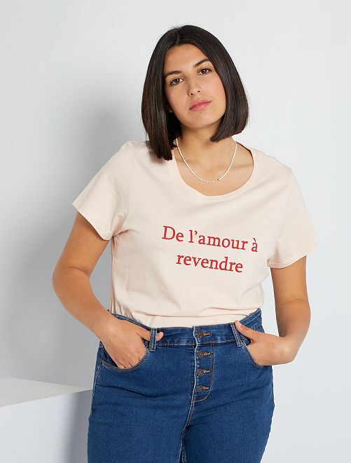 T-shirt eco-sostenibile                                                                                                                                                                                                                                                                                                                 ROSSO