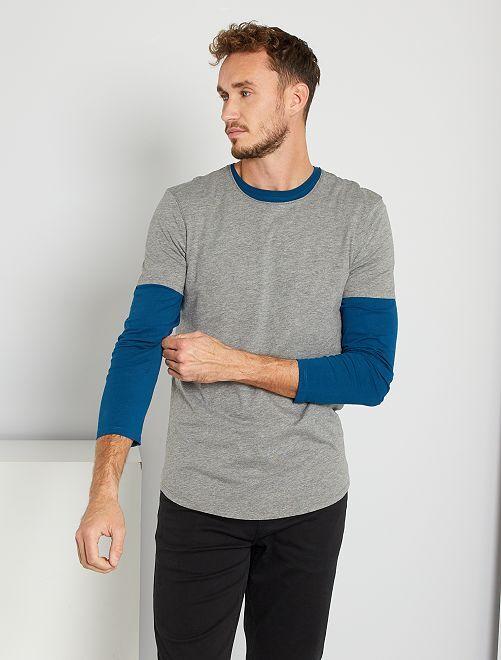 T-shirt ecosostenibile + 190 cm                                                                 GRIGIO