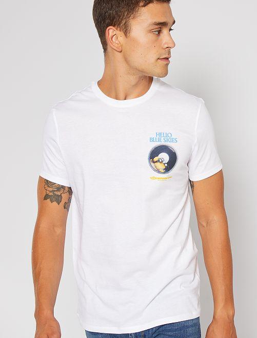T-shirt 'I Minions'                                         BIANCO