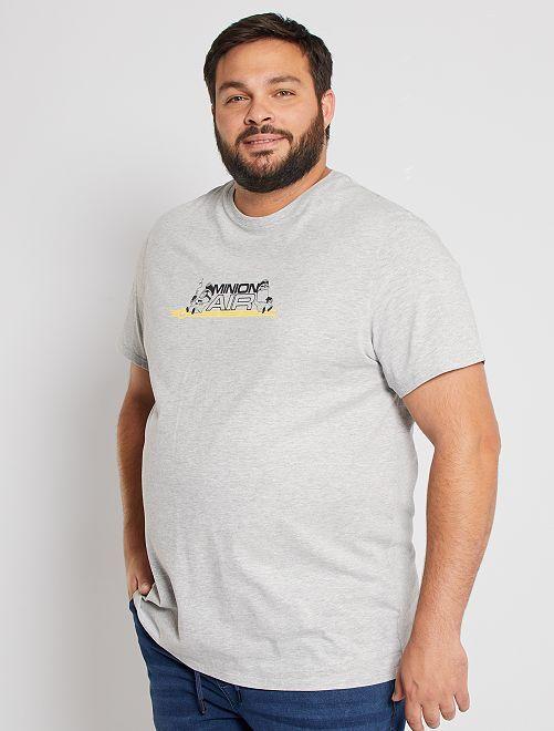 T-shirt 'I Minions'                             GRIGIO