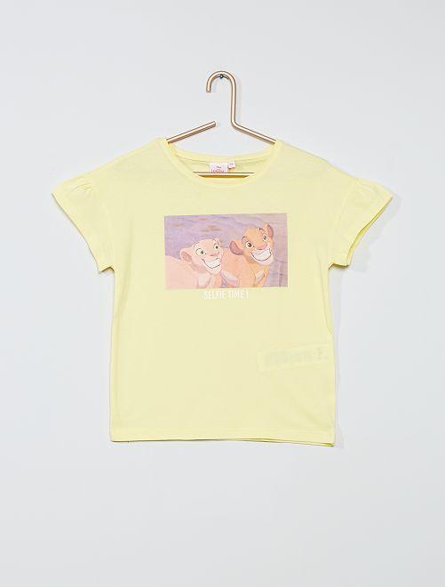 T-shirt in cotone 'Disney'                                                                             GIALLO