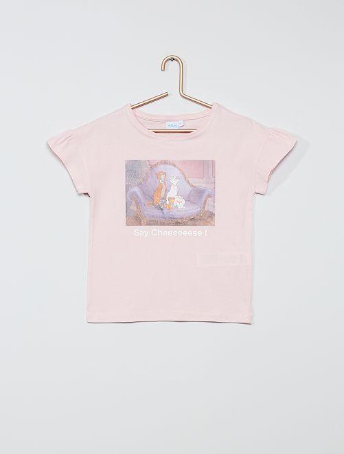 T-shirt in cotone 'Disney'                                                                             ROSA
