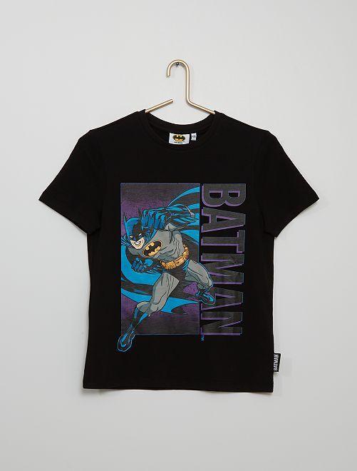 T-shirt in maglia jersey 'Batman' 'DC Comics'                             nero