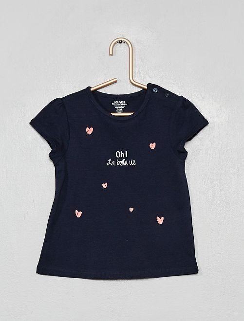T-shirt 'paparino'                                 BLU