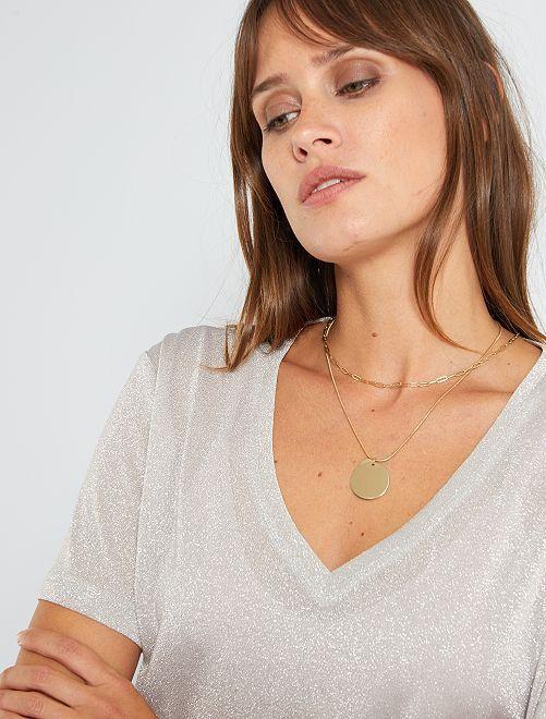 T-shirt lucida                                         ROSA