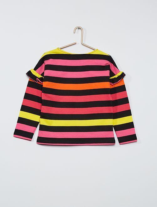 T-shirt maniche lunghe 'Little Marcel'                             ROSA