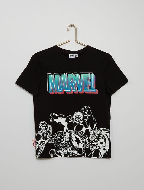 T-shirt 'Marvel' 'Avengers'                             nero