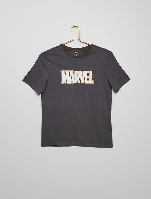 T-shirt 'Marvel' eco-sostenibile                                         GRIGIO