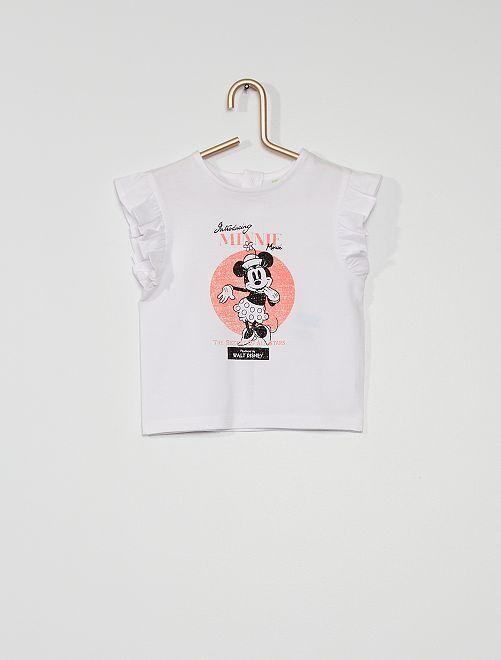 T-shirt 'Minnie' di 'Disney'                             BIANCO