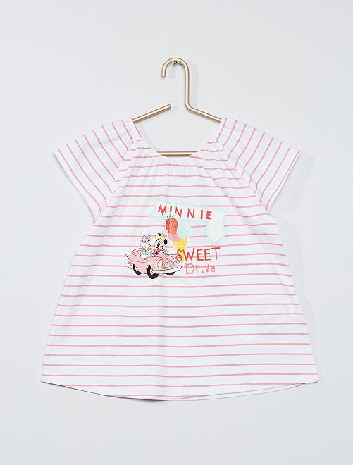 T-shirt 'Minnie Mouse'                                                                 BIANCO