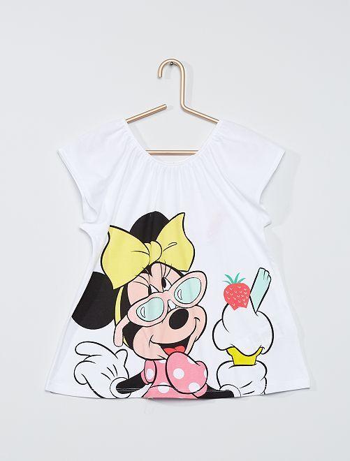 T-shirt 'Minnie Mouse'                                                                 BIANCO