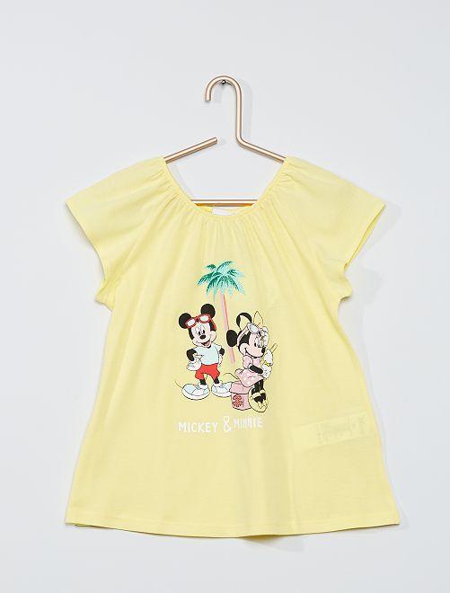 T-shirt 'Minnie Mouse'                                                     GIALLO