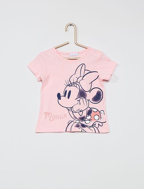 T-shirt 'Minnie'                                         rosa
