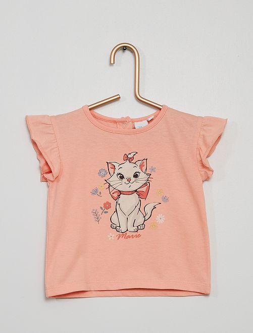 T-shirt 'Minou' di 'Disney'                             rosa