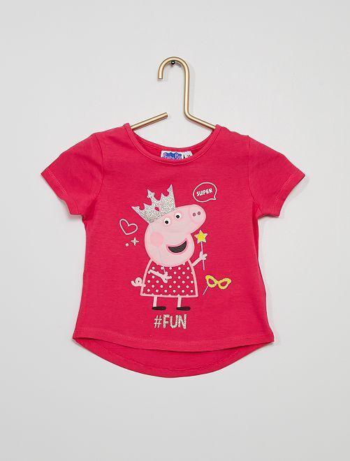 T-shirt 'Peppa Pig'                             ROSA