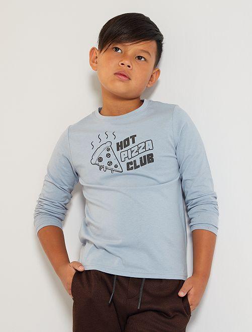 T-shirt 'pizza'                                                                                                     BLU