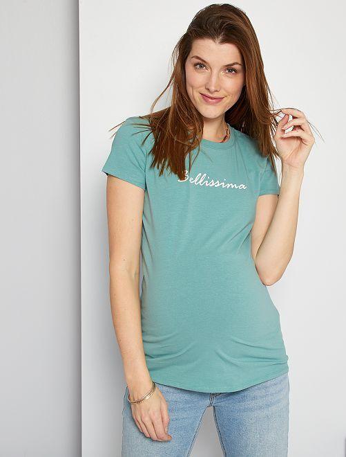 T-shirt pré-maman                                                                             BLU