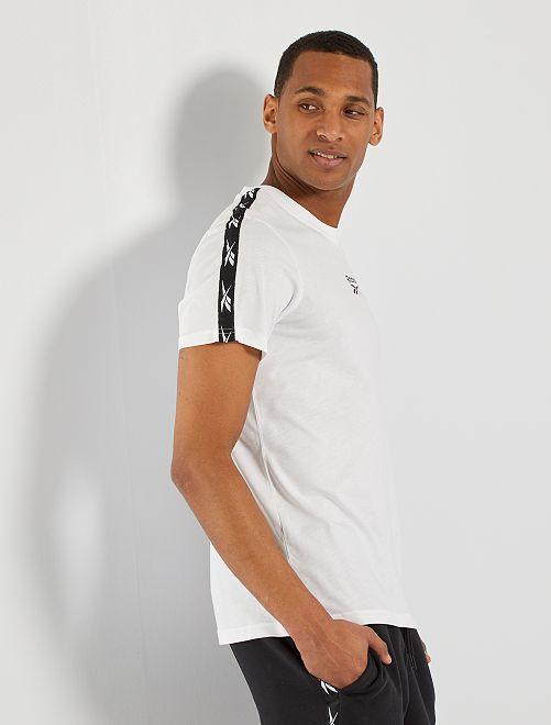 T-shirt 'Reebok'                             BIANCO