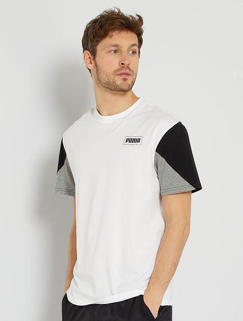 T-shirt relaxed 'Puma'                             BEIGE
