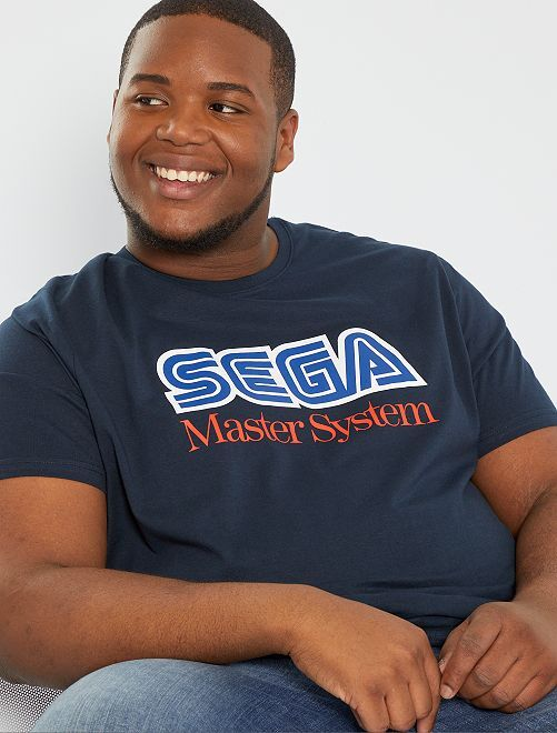 T-shirt 'Sega Master System'                             blu