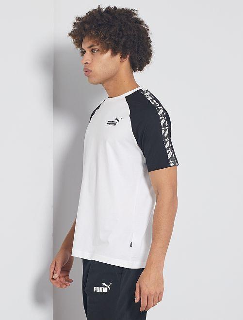 T-shirt sportiva 'Puma'                             bianco