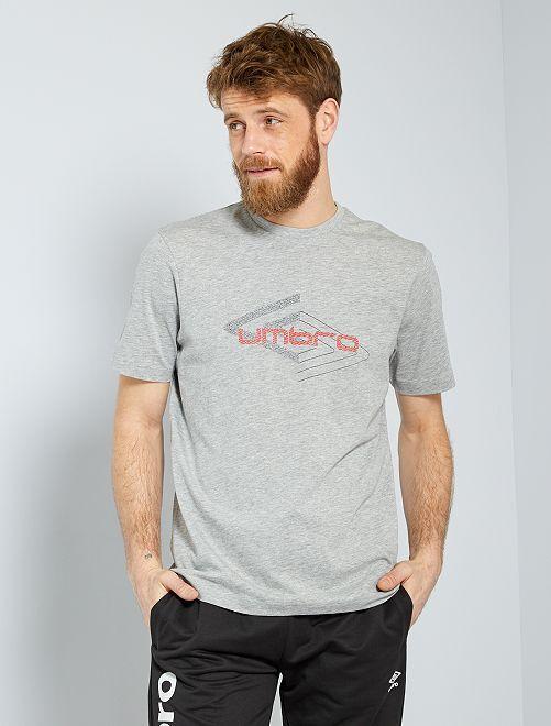 T-shirt sportiva 'Umbro'                                         GRIGIO