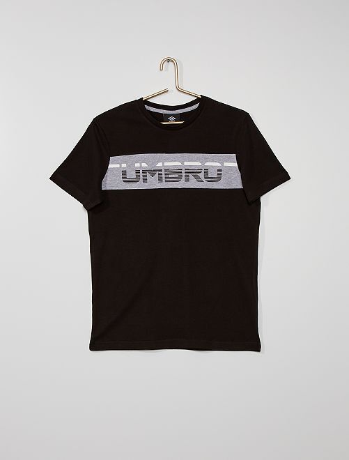 T-shirt sportiva 'Umbro'                                         NERO