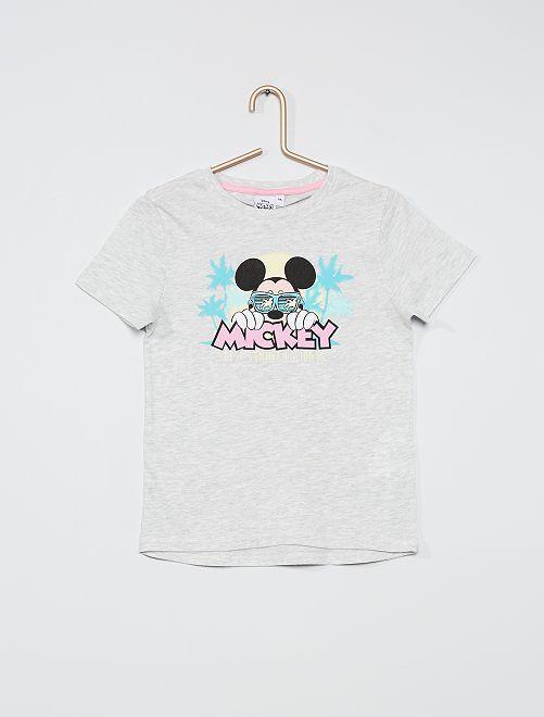 T-shirt stampa 'Topolino'                     GRIGIO