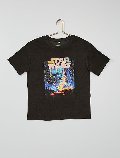 T-shirt 'Star Wars' cotone eco-sostenibile                             NERO