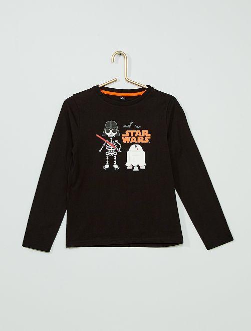 T-shirt 'Star Wars' Halloween                                         NERO
