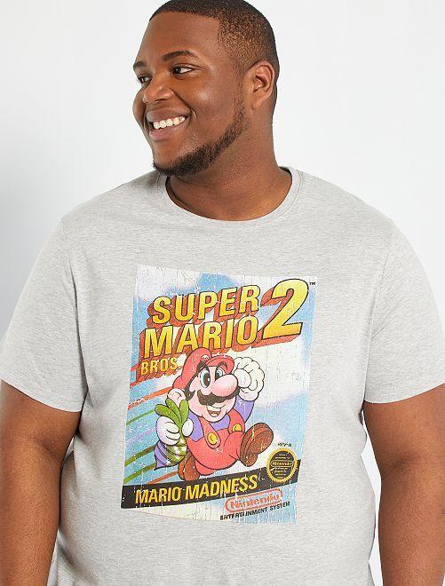 T-shirt 'Super Mario Bros. 2'                             GRIGIO