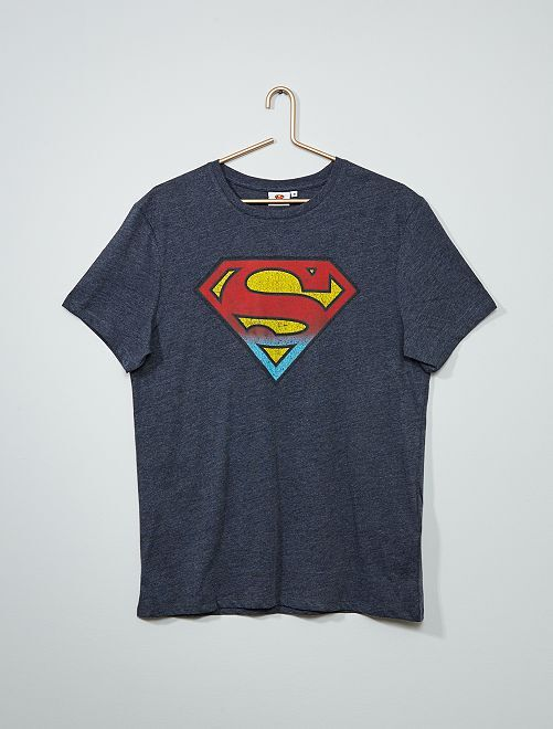 T-shirt 'Superman'                             bianco
