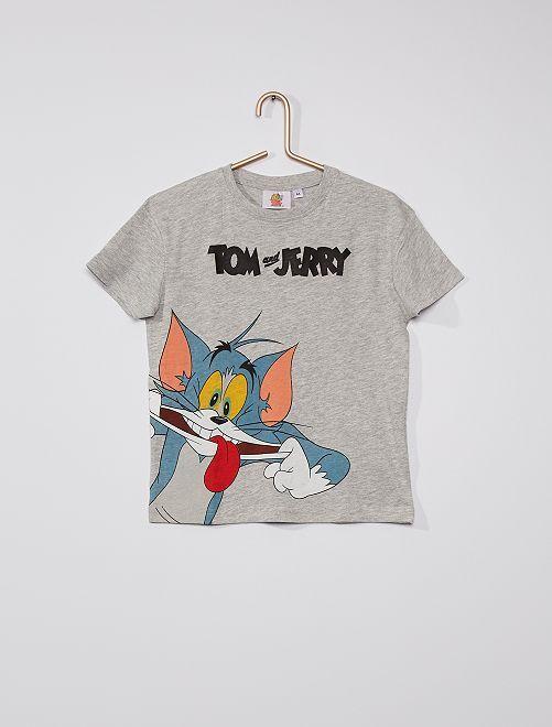 T-shirt 'Tom & Jerry'                             GRIGIO