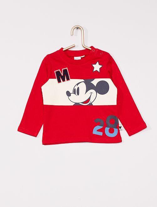 T-shirt 'Topolino'                             rosso