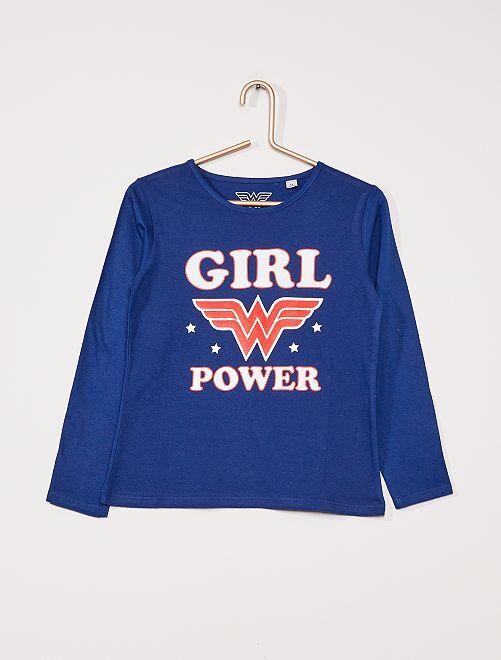 T-shirt 'Wonder Woman' di 'DC Comics'                             blu marine/rosso