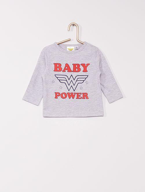 T-shirt 'Wonder Woman' di 'DC Comics'                             GRIGIO