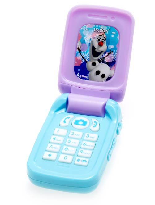 Telefono cellulare giocattolo 'Frozen - Il regno di ghiaccio'                             celeste Infanzia bambina