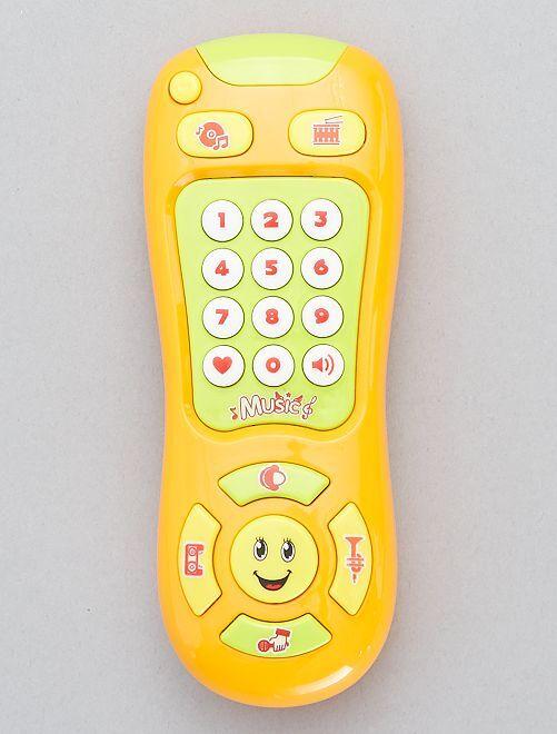 Telefono prima infanzia                                         giallo Neonato