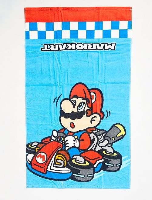Telo mare 'Mario Kart'                             BLU