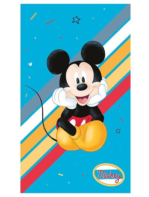 Telo mare 'Mickey'                             blu