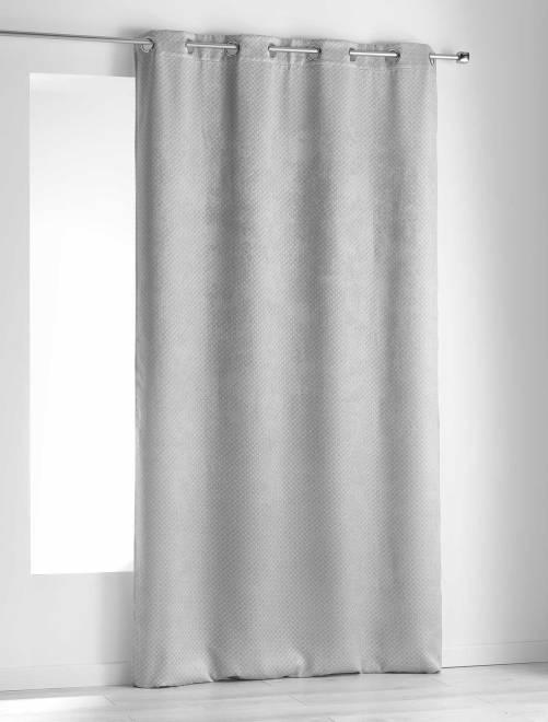 tenda occultante velluto casa grigio kiabi 20 00