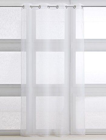 Tenda trasparente con occhielli - Kiabi