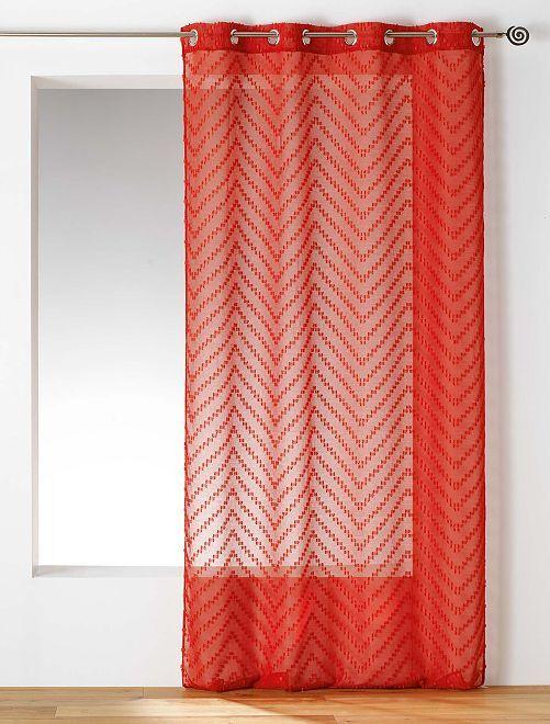 Tenda trasparente 'Sahara'                                         rosso